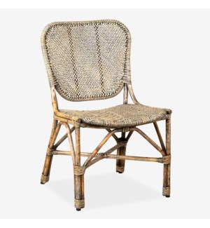 Kai Side Chair (21x23x34)- Natural Antique