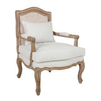 (LS) Adele Occasional Chair With Wood Frame (28x28x38,4)