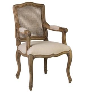Arthur Dining Arm Chair-Walnut