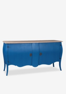 (LS) Fiji with 2 Door Cabinet (64x20x34)Blue