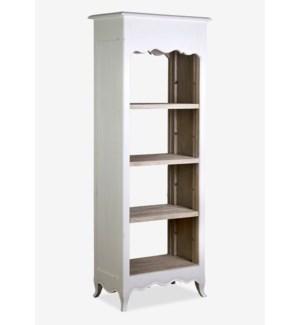 (LS) La Salle Open Bookcase (narrow) (26x16x70)