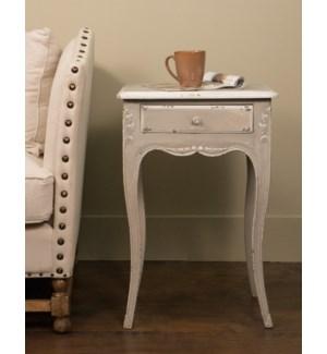 Louise Side Table Pompadour (18X14X27)