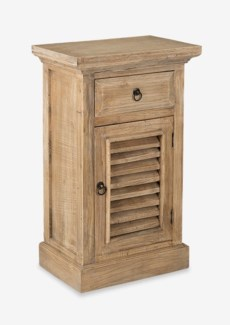 Promenade Shutter Door Side Table(17.75X12X29.5)