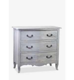 Promenade Dresser with 3 Drawers-Grey Rustic (36.25X17X33.5)..