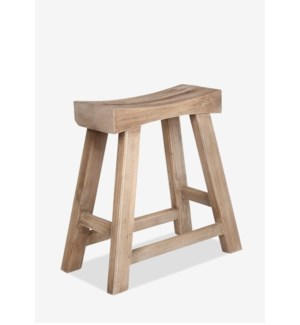 Promenade Vintage Style Accent Stool (22x12x22)