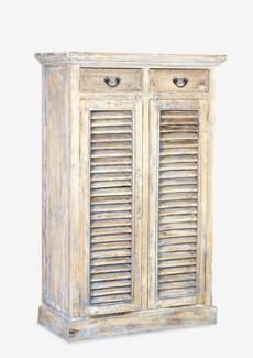 """Promenade 59""""H 2 drawer - 2 door cabinet (37..5X18X59)"""