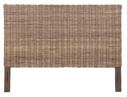 Seascape Drifwood Rattan Headboard -King (80X2X54)