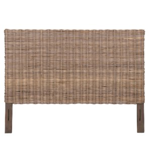 Seascape Drifwood Rattan Headboard -King (80X2X54)