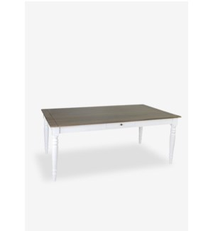 Simone Dining Table-White (71X39X30)