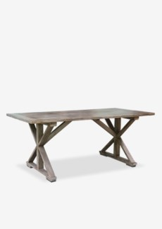 "(LS) Sonoma 72"" Cross Base Dining Table-Vintage Grey (K/D) (72X36X30)"