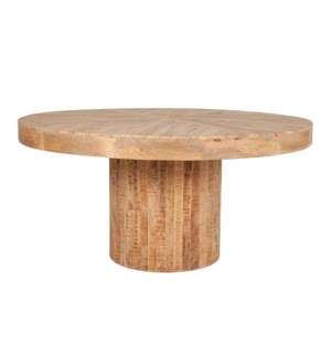 "Maison 60"" Round Dining Table"