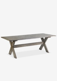 (LS) Terrain Dining Table  - Vintage Grey..Dimension: 86.5X39.25X30
