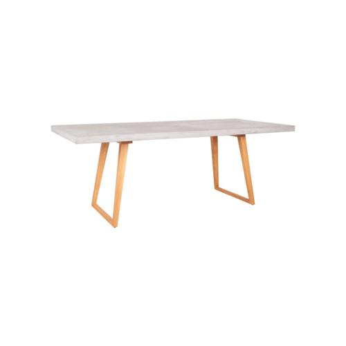Cohen Concrete Top Dining Table, Gray