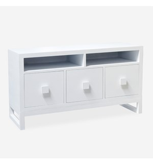 New Hampton Dresser -- all white (no inlay)
