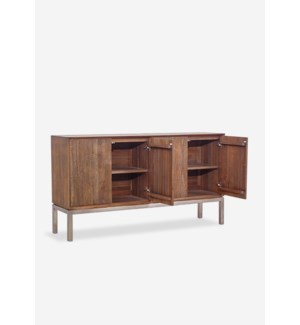(33.4% Off) Cherrish Sideboard w/ 4 doors (71x18x39)