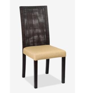 (LS) Espa Dining Side Chair MOQ 2  (22x23x34.5) (package: 2pcs/box) price is per piece