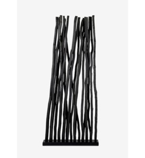 Jungle Divider-Black (34X8X81)  -- (1 pc per box)