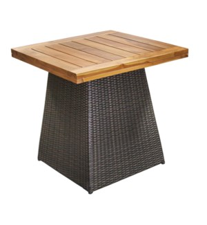 Pyramid Dining Table Teak Top - Outdoor