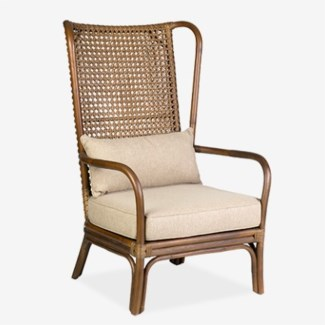 Sven Woven High Back Chair