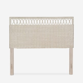 Daphnie Rattan Headboard - K/D - Adjustable