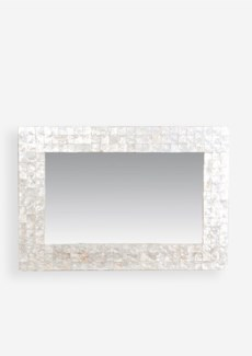Chesapeake Mirror w/ Capiz Shell - Small (27x1x39)