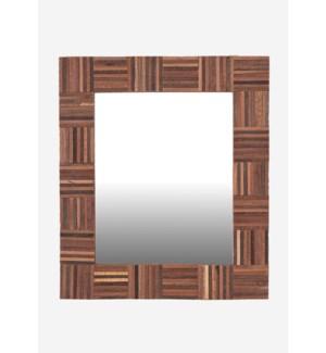 (LS) Cheyenne Wood Mirror-Rectangle (29x1.2x26)
