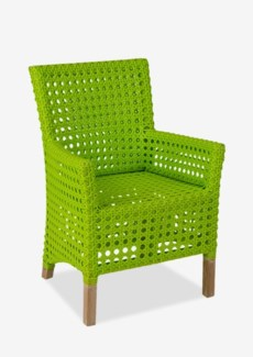 (LS) Derby Arm Chair - Indoor/ Outdoor Lime Green (25X25X35)
