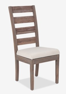 (LS) FT Davis Side Chair-Grey Wash  (19x22x41)