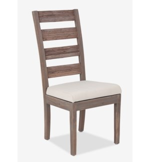 (LS) FT Davis Side Chair-Grey Wash  (19x22x41) MOQ 2 (package: 2pcs/box) price is per piece