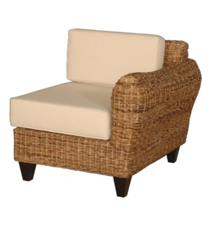 Lamina Chair Left Side - Abaca (31X35X29.5)