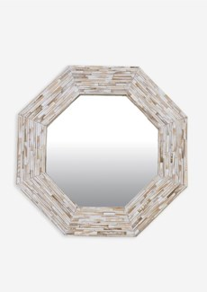 (LS) Rosario Mirror - Whitewash