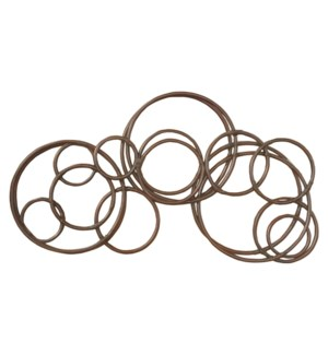 Tundra Multi-Circle Wall Decor (59x3x31)