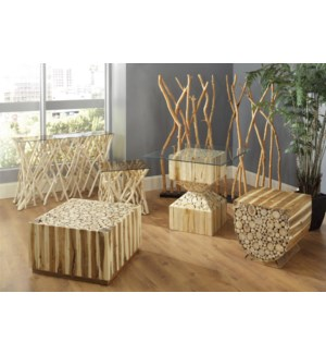 (LS) Teakwood Soft Divider (Set) (59x7x60)