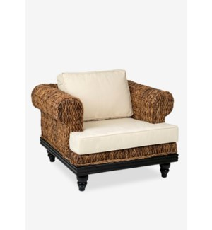 (LS) Tropical Club Chair Abaca Small Astor (39x33x26)