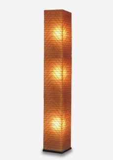 (LS) Wave Square Standing Lamp (L) (13x13x77)
