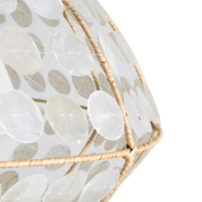 Grand Capiz Hanging Lamp (M)(35X35X18.5)