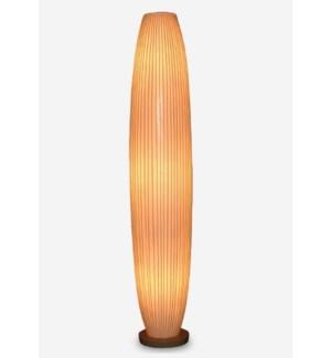 (LS) Kuta Standing Lamp (12x12x63)