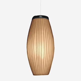 (LS) Kuta Ellipse Hanging Lamp (10x10x26)