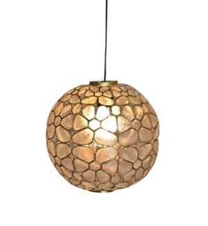 Round Kapis Hanging Lamp (12x12x12)