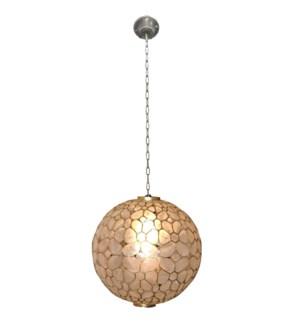 Round Kapis Hanging Lamp 14x14x14