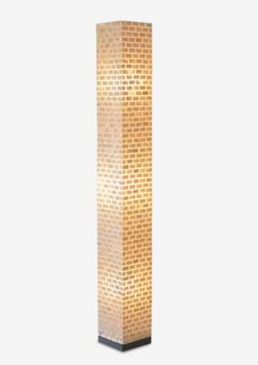 (LS) Valentti Square Std Lamp (L)-White