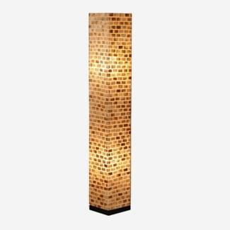 (LS) Valentti Square Std Lamp (M) (8x8x53)