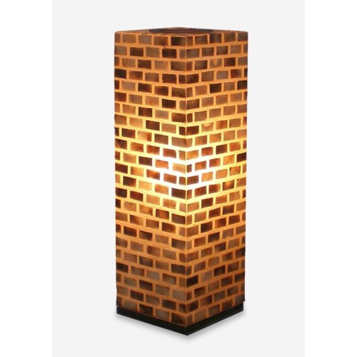 (LS) Valentti Square Table Lamp (L) (8x8x25)