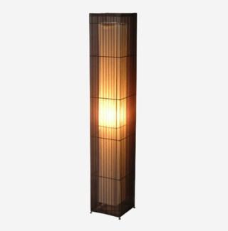 (LS) Dellon Ribbon Square Standing Lamp  (7x7x42)