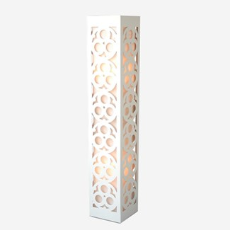 (LS) Candea Standing Lamp (White) (8.5X8.5X47.5)