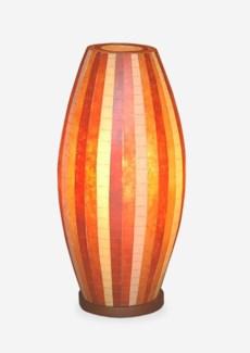 (LS) Sedona Mosaic Table Lamp ? M (Brown Color) (10X10X20.5)
