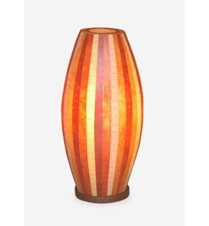 (LS) Sedona Mosaic Table Lamp ? M (Brown Color) (10X10X20.5)