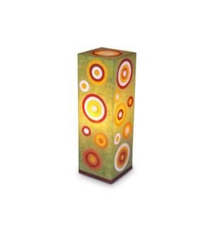(LS) Jayla Square Table lamp ? Large (8X8X24.5)