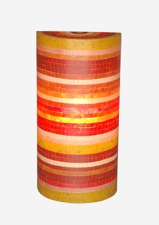 (LS) Macedon Wall Lamp (Mosaic mix Color)  (12X6X23.5)