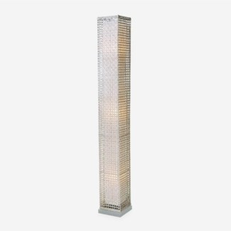 (LS) Riviera Standing Lamp (L)(8.5X8.5X65) White